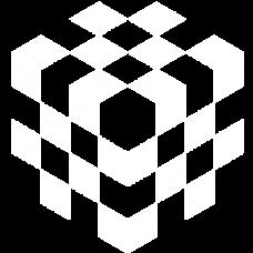 cube checkered 3d optical DG0036OPTL