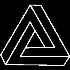 triangles optical illusion DG0055OPTL