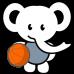 Elephant Basketball DG0031BBAL