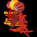 3 Player Basketball DG0081BBAL
