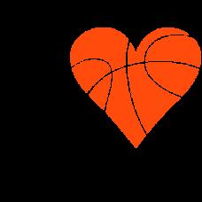 I love Basketball DG0090BBAL